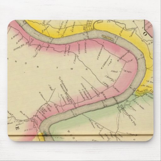 Upper Ohio River and Valley 11 Mousepad