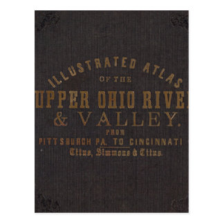 Upper Ohio River and Valley 11 Postcard