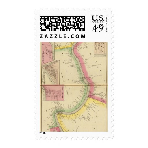 Upper Ohio River and Valley 2 Postage Stamp