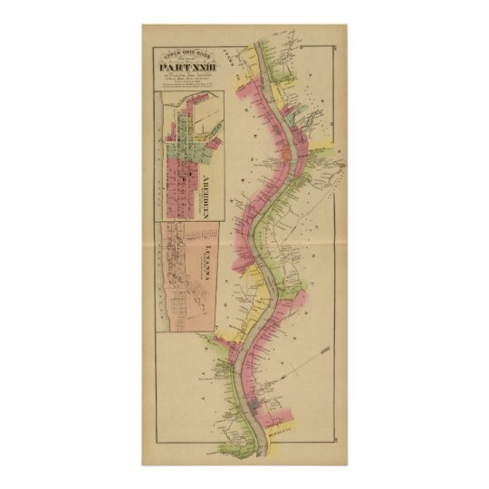 Upper Ohio River and Valley 2 Poster