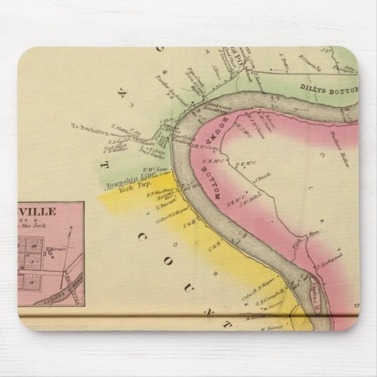 Upper Ohio River and Valley 3 Mouse Pad