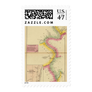 Upper Ohio River and Valley 3 Postage