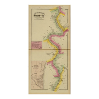 Upper Ohio River and Valley 3 Poster