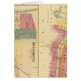 Upper Ohio River and Valley 4 Greeting Card