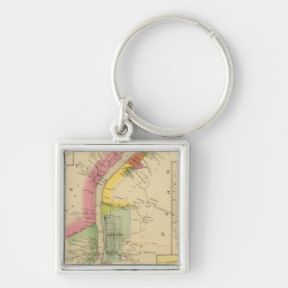Upper Ohio River and Valley 6 Keychain