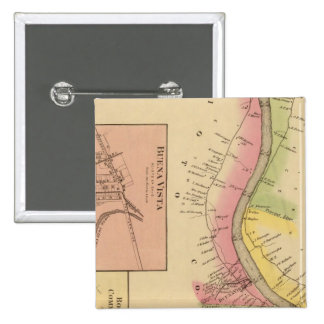 Upper Ohio River and Valley 6 Pinback Button