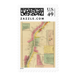 Upper Ohio River and Valley 6 Stamps
