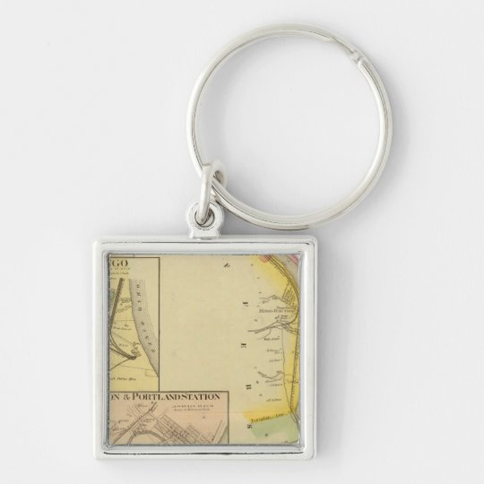 Upper Ohio River and Valley 7 Keychain