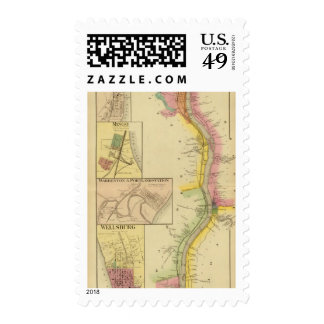 Upper Ohio River and Valley 7 Postage Stamp