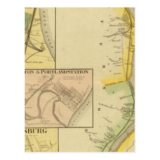 Upper Ohio River and Valley 7 Postcard