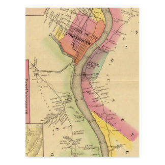 Upper Ohio River and Valley 8 Postcard