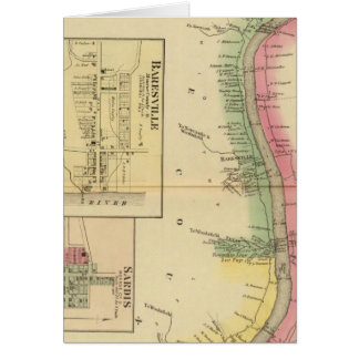 Upper Ohio River and Valley part Card
