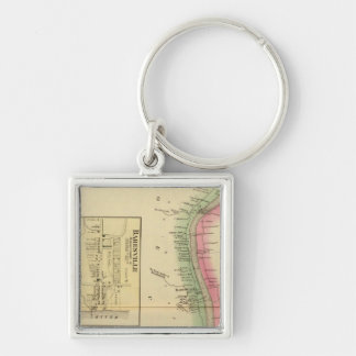 Upper Ohio River and Valley part Keychain