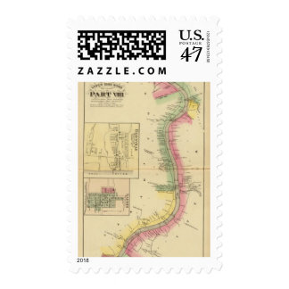 Upper Ohio River and Valley part Postage