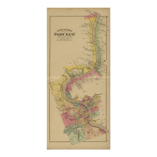 Upper Ohio River and Valley Poster