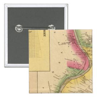 Upper Ohio River Pinback Button