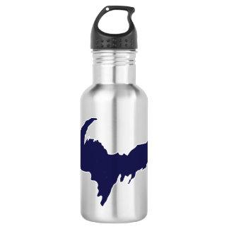 Upper Peninsula (Blue logo) Water Bottle