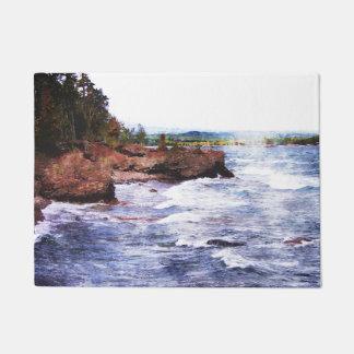 Upper Peninsula Landscape Doormat