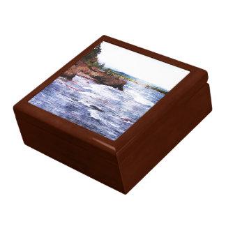Upper Peninsula Landscape Jewelry Box