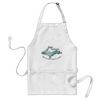 Upper Peninsula Michigamme middle of nowhere Adult Apron