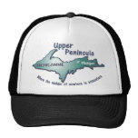 Upper peninsula michigamme middle of nowhere trucker hat