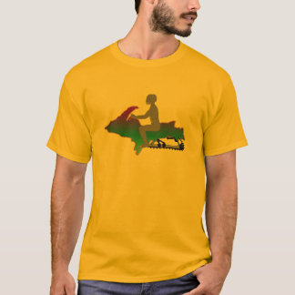 Upper Peninsula Snowmobile T-Shirt