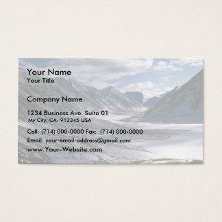 Upper Peter Lake Business Card