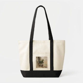Upper portion of the facade of St. Mark's Church, Tote Bag