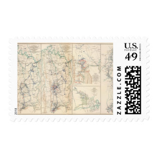 Upper Potomac McCoys Ferry-Conrads Ferry Postage Stamp