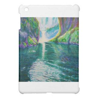Upper Punchbowl Waterfall, Oregon iPad Mini Case