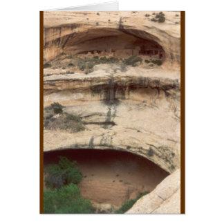 Upper Rock Dwelling at Mesa Verde Greeting Card