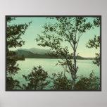Upper St. Regis Lake, in the Adirondacks Poster