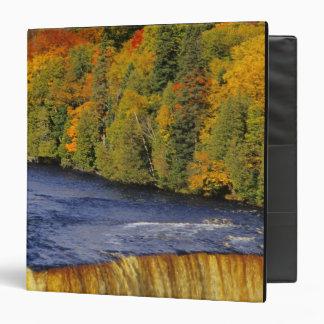 Upper Tahquamenon Falls in UP Michigan in 3 Ring Binder