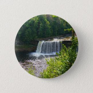Upper Tahquamenon Falls, Michigan Pinback Button