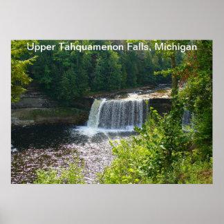 Upper Tahquamenon Falls, Michigan Poster