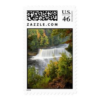 Upper Tahquamenon Falls Postage Stamp