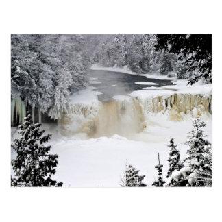 Upper Tahquamenon Falls-postcardcopy Postcard