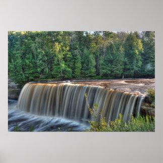 Upper Tahquemenon Falls, Michigan Poster