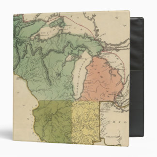 Upper Territories of the the United States Vinyl Binders