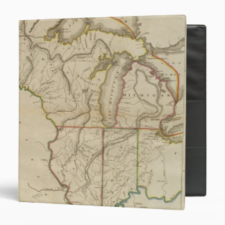 Upper Territories of the United States 3 Ring Binders