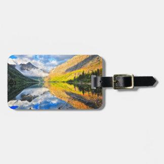 Upper Two Medicine Lake at Sunrise Luggage Tag