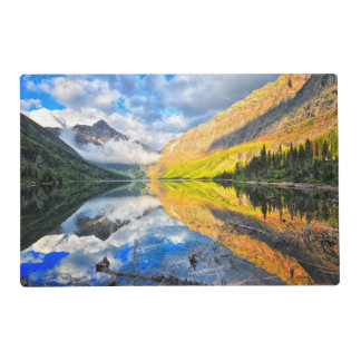 Upper Two Medicine Lake at Sunrise Placemat