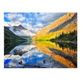 Upper Two Medicine Lake at Sunrise Postcard