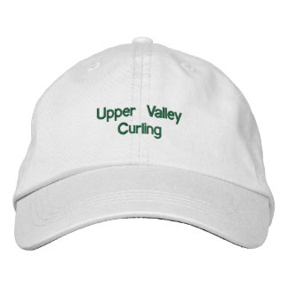 Upper Valley Curling Adjustable Hat