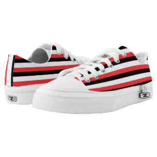 Upper Volta Flag -.png Low-Top Sneakers