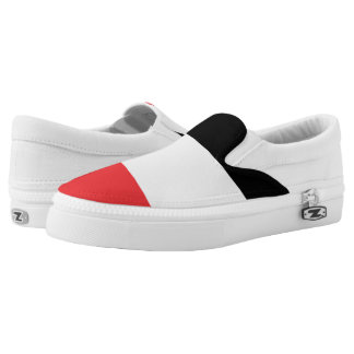 Upper Volta Flag -.png Slip-On Sneakers