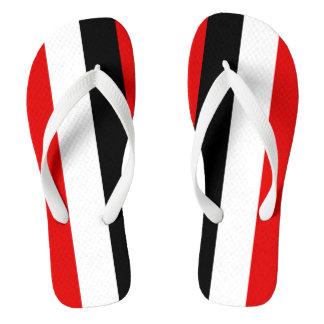 Upper Volta Flip Flops