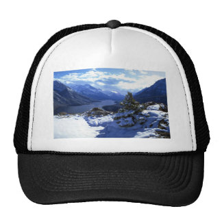 Upper Waterton Lake, Waterton Lakes National Park, Mesh Hats