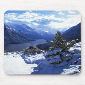 Upper Waterton Lake Waterton Lakes National Park Mousepad