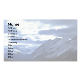 Upper Watertown Lake, Waterton Lakes Nat'l Park, C Double-Sided Standard Business Cards (Pack Of 100)